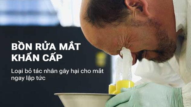 Nhà cung cấp vòi rửa mắt khẩn cấp giá rẻ tại tphcm - có bảo hành