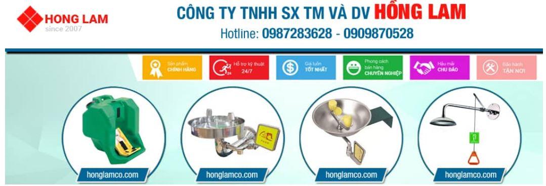 Kiểm tra chậu rửa mắt khẩn cấp : Cách sử dụng máy đo│Hồng Lam Co.LTD