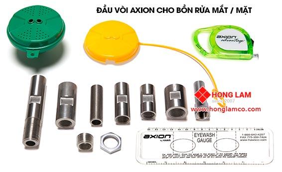 Công nghệ AXION - Bồn rửa khẩn cấp mắt và mặt vòi sen │Hồng Lam