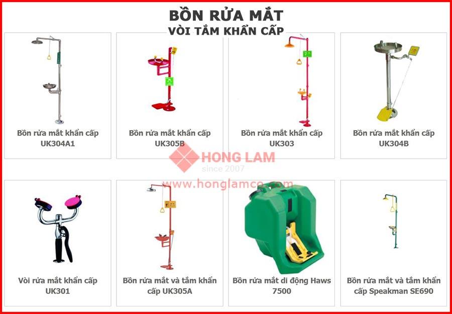 Hướng dẫn kiểm tra Trạm rửa mắt khẩn cấp và vòi sen | Hồng Lam Co
