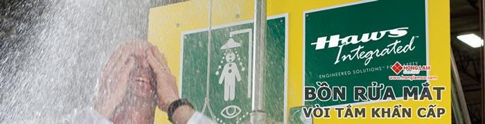 Kiểm tra bồn rửa mắt khẩn cấp theo tiêu chuẩn ANSI quốc tế│Hồng Lam