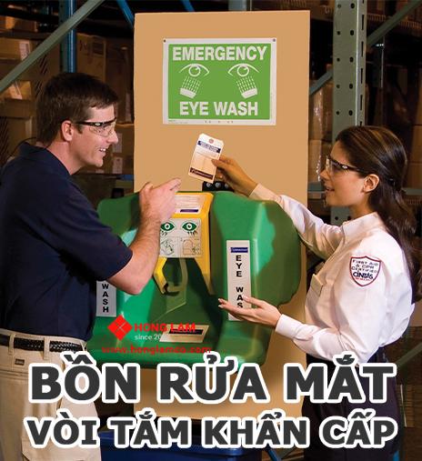 Trạm rửa mắt bảo trì kém có thể đe dọa nhân viên của bạn