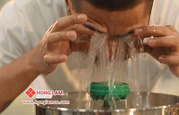 Bồn rửa mắt vòi AXION tiên tiến mới nhất cho sự an toàn của bạn