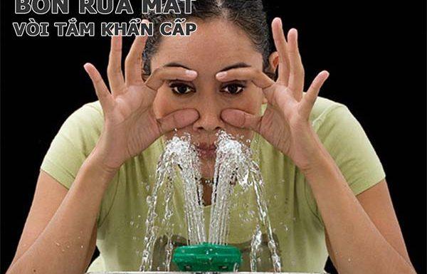 Nên sử dụng Bồn rửa mắt khẩn cấp hay Chậu rửa mắt và mặt kết hợp?
