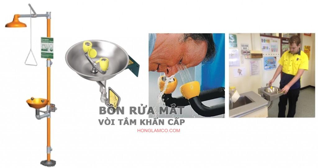 Đơn vị cung cấp bồn rửa mắt khẩn cấp gắn tường hồ chí minh