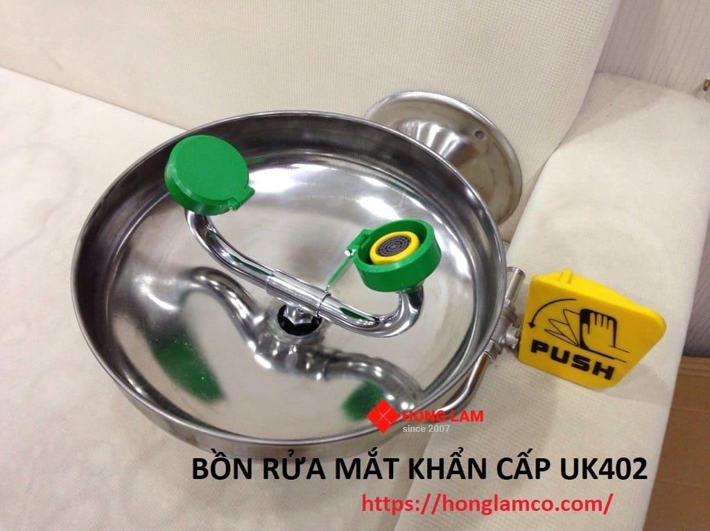 Cách sử dụng bồn rửa mắt khẩn cấp uk402
