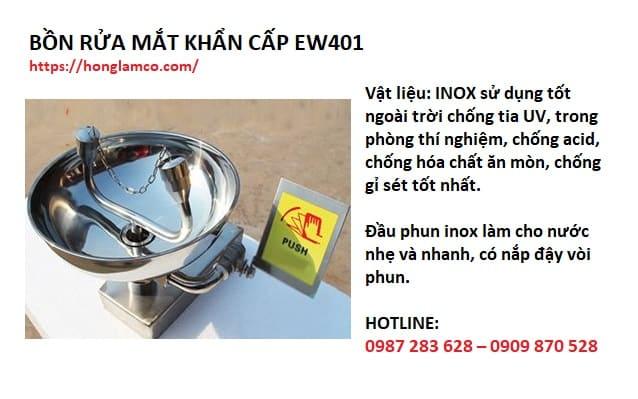 Địa chỉ mua bồn rửa mắt khẩn cấp EW401 hàng chuẩn giá tốt