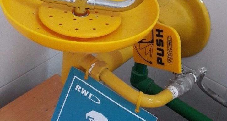 Cung cấp thiết bị bồn rửa mắt khẩn cấp tại Bình Dương - Giá gốc