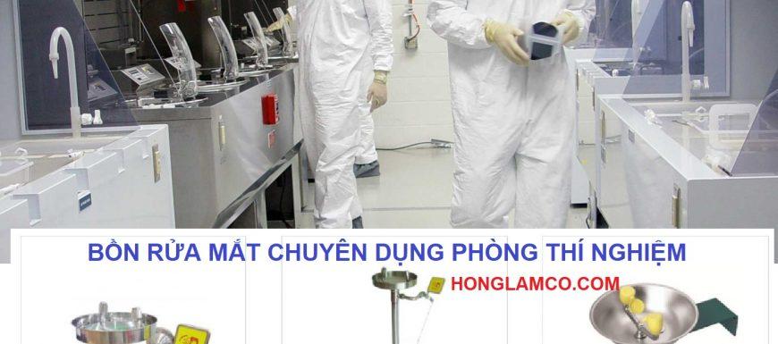 Lắp đặt vòi rửa mắt khẩn cấp trong phòng thí nghiệm